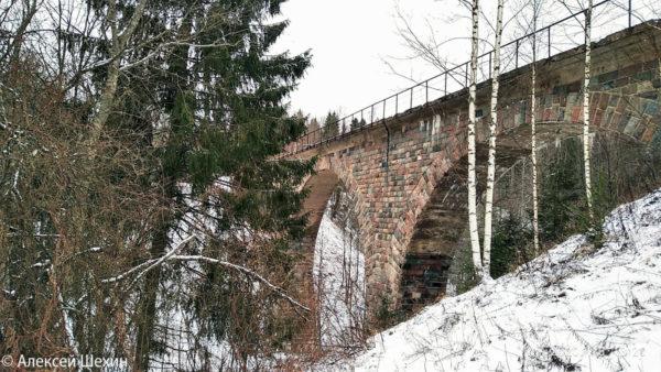 ЖД мост через реку Ярыня