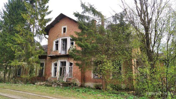Большой господский дом усадьбы Дашковых в Надбелье